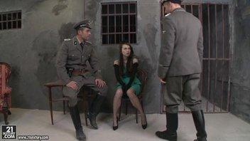 На допросе у немцов