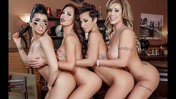Крутая группавушка дамочек из БРАЗЗЕРС