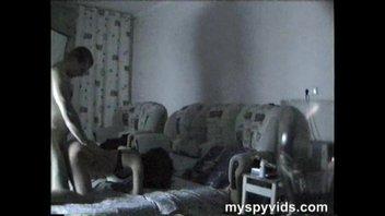 Секс с женой на скрытую камеру