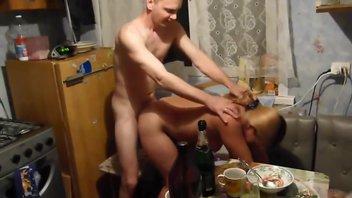 Пьяная баба-чужая пизда 4