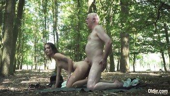 Свидание в лесу