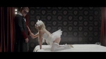 Похотливая фантазия трахается и на лицо с гламурной русской малышкой Кэтрин Тэкилой