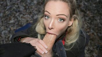 Эрик Эверхард наслаждается страстным минетом от блондинки Изабеллы Делтор