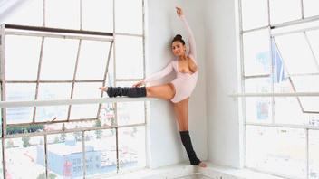 Грудастая балерина Нина на крепком большом члене, Нина Норт (Nina North)