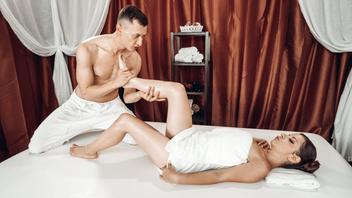 Массаж  и вкусный секс