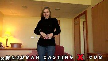 Вудман проводит порно кастинг с русской молодкой